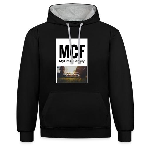 MCF_-3- - Sudadera con capucha en contraste