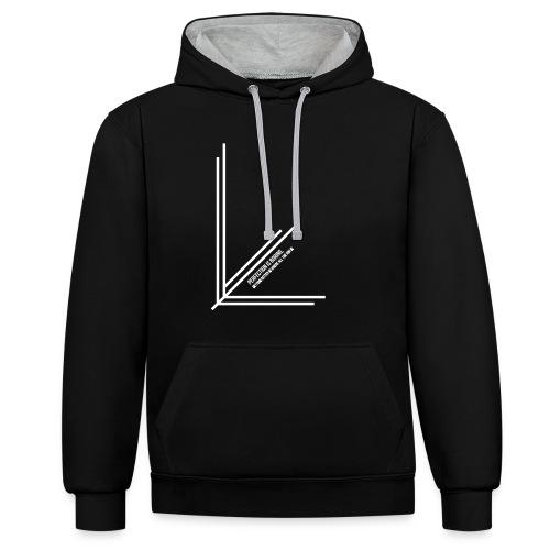 Perfection_Black - Contrast hoodie