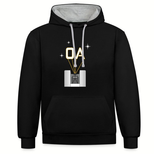 Adaptive Optics (OA) - Contrast Colour Hoodie