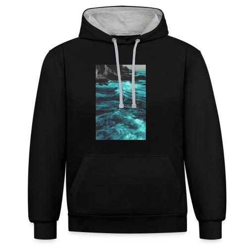 paradise-jpg - Contrast hoodie