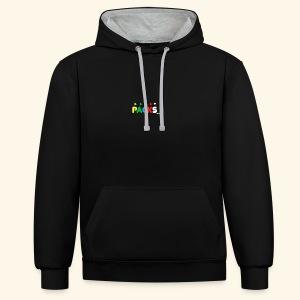 PACKSwear Hoodie - Kontrast-hættetrøje