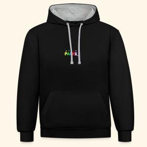 PACKSwear Logo Hoodie - Kontrast-hættetrøje