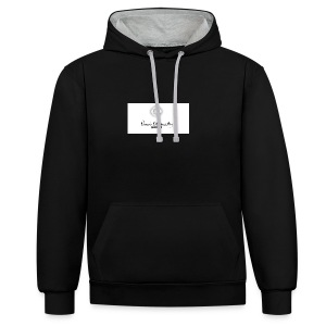 Blessed by Insanity - Contrast hoodie