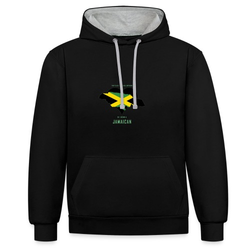 They Said I Could Be Anything - Contrast Colour Hoodie