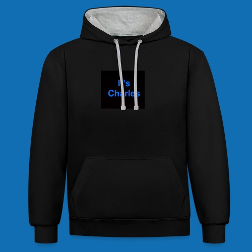 It's Charles - Contrast Colour Hoodie
