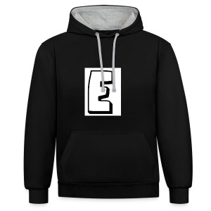 Itz Ethan's Merch - Contrast Colour Hoodie