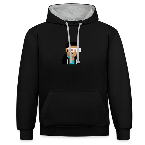 [Official] ScaryTylerZ Logo 2016 - Contrast Colour Hoodie