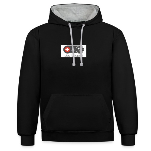 collection homme Geek manette - Sweat-shirt contraste