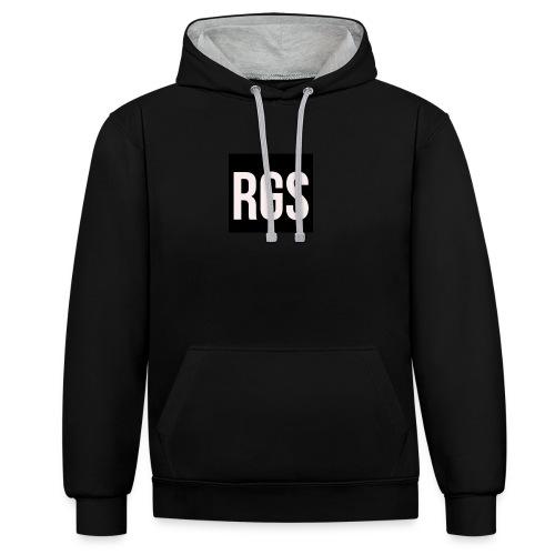 RGS_Profile_Logo - Contrast Colour Hoodie