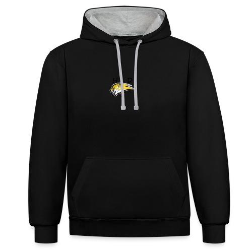 HDG CHEETAH - Contrast hoodie