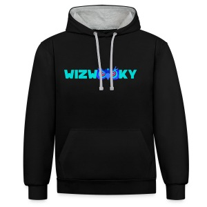 The Official Wizwooky - Contrast Colour Hoodie