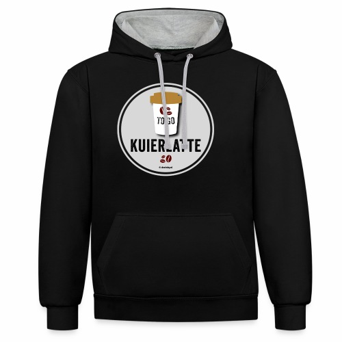 Kuierlatte - Contrast hoodie