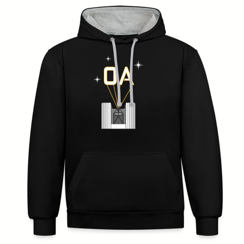Adaptive Optics (OA) - Contrast Colour Hoodie
