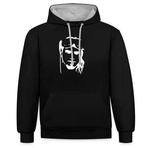 BA_shirt01_wir-drucken-sh - Kontrast-Hoodie