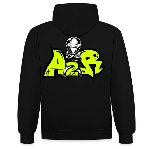 Logo A2R (Motard 2) - Sweat-shirt contraste