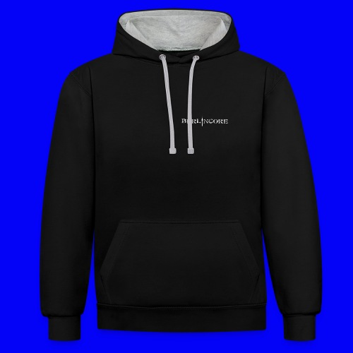 Unfg png - Contrast Colour Hoodie
