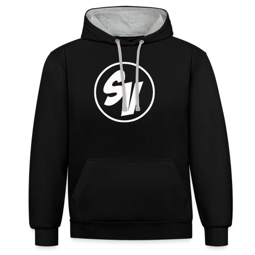 T-shirt SynonymousVids - Contrast hoodie