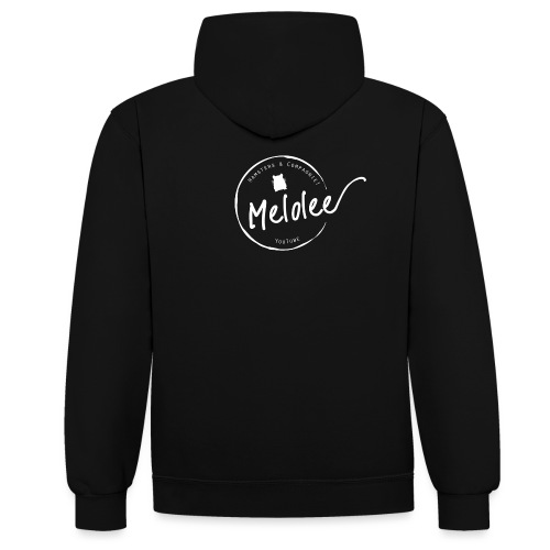 Melolee - Hamsters & Compagnie! Officiel - Sweat-shirt contraste