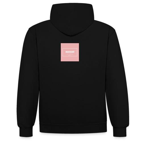 M O U N T apparel AMS - Contrast hoodie