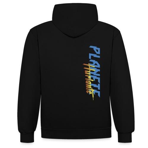 Produit officiel de Planete Hurlante - Sweat-shirt contraste