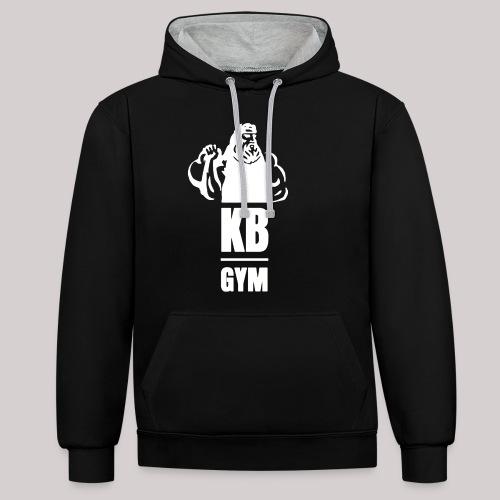 BOS_Kettlebellgod - Kontrast-Hoodie