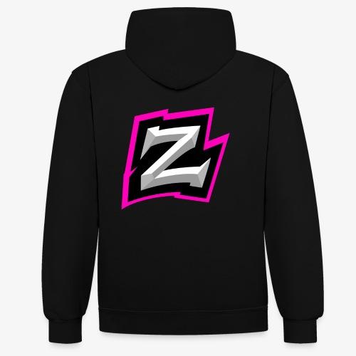 Zwicy Logo - Kontrast-hettegenser
