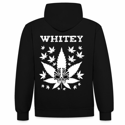 Whitey - Contrast Colour Hoodie