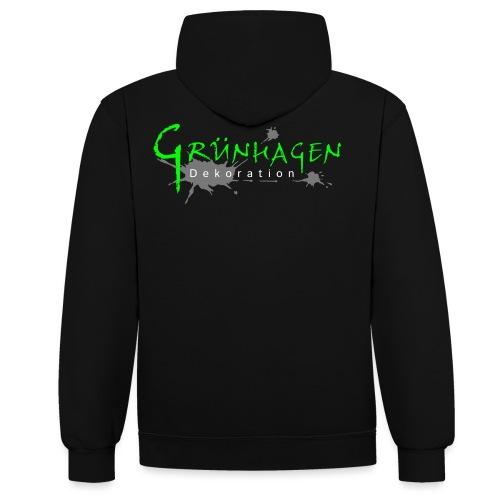 Grünhagen - Kontrast-Hoodie