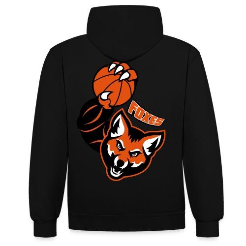 Foxes basketball - Sweat-shirt contraste