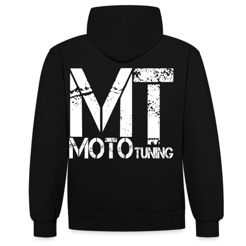 MotoTuning Logo - Contrast Colour Hoodie