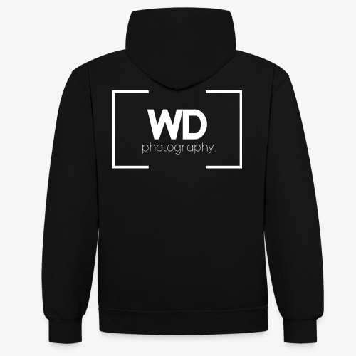 WD Photography - Contrast hoodie