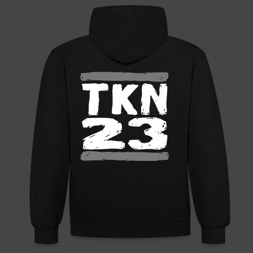 TKN 23 - Sweat-shirt contraste