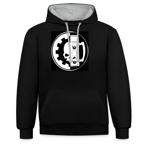 SONS OF HERESY PODCAST V1 - Contrast Colour Hoodie