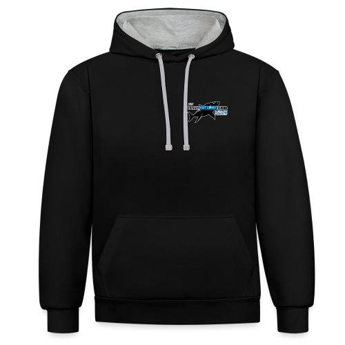 Official TAFishing Logo - Contrast Colour Hoodie