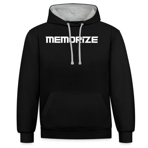 Memorize New - Contrast Colour Hoodie