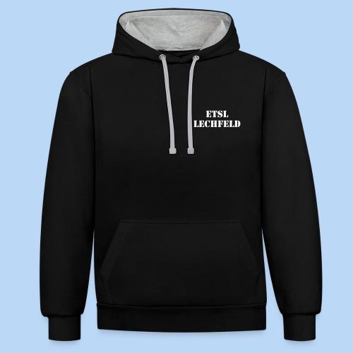 ETSL_Lechfeld - Kontrast-Hoodie