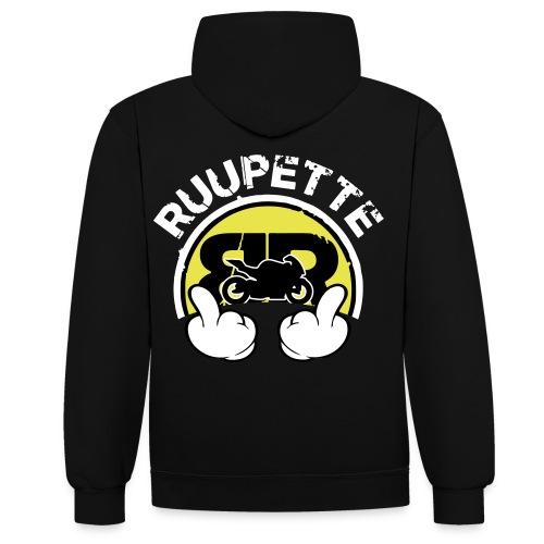 BRProds Fuck (RUUPETTE) - Sweat-shirt contraste