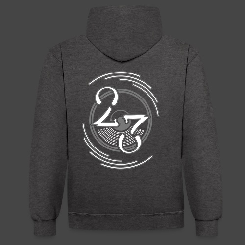 23 - Sweat-shirt contraste