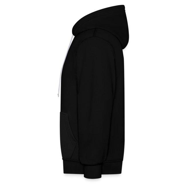 Vorschau: Vorsicht vor dem Frauchen - Kontrast-Hoodie