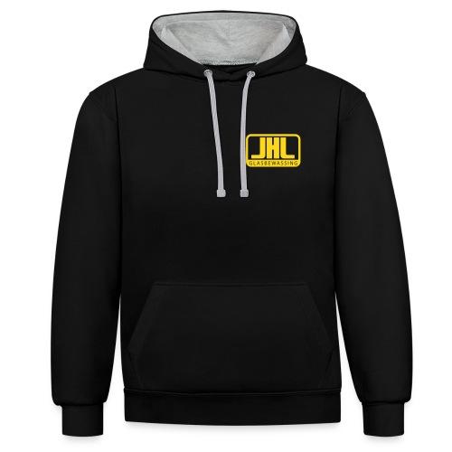 jhl-logo - Contrast hoodie