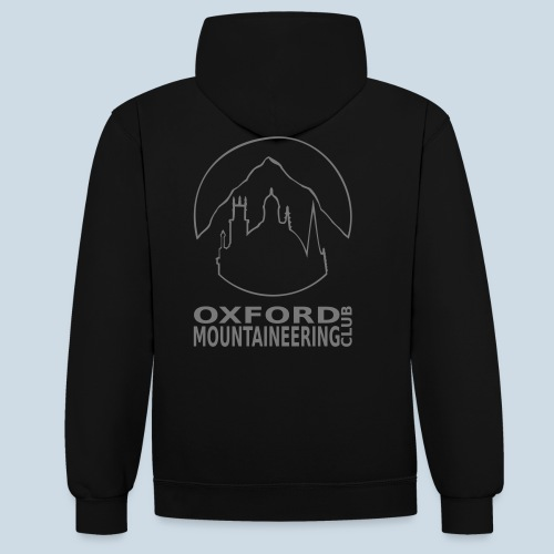 LogoWord - Contrast Colour Hoodie