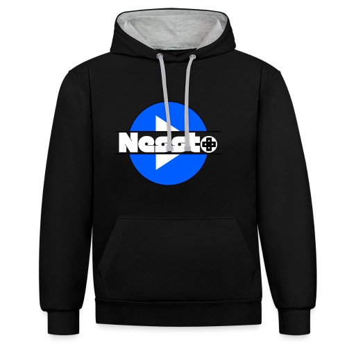 Nessto-GC - Kontrast-Hoodie