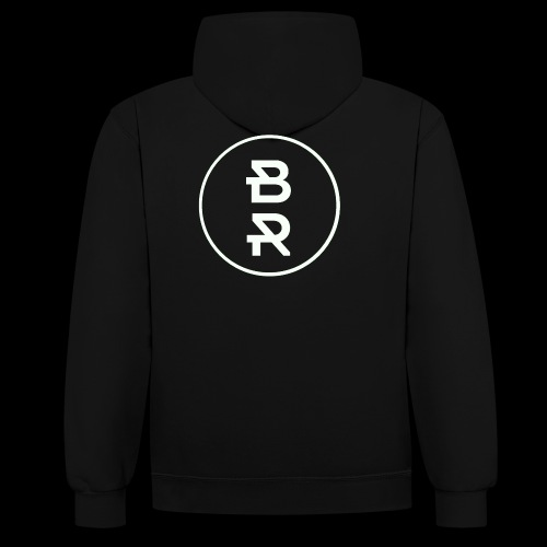 BR gif - Sweat-shirt contraste