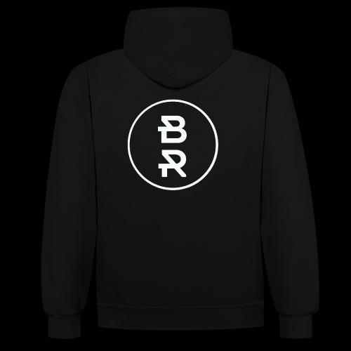 BR gif - Sweat-shirt contraste