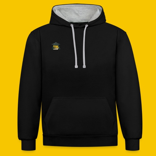 TDL Group - Contrast Colour Hoodie