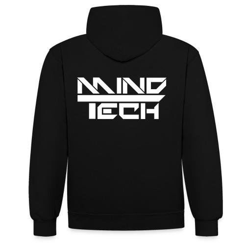 mindtech - Kontrast-Hoodie