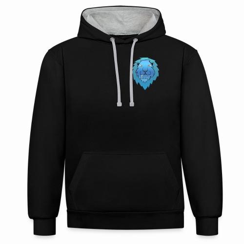 Cartoon2 png - Contrast hoodie