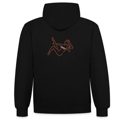 YARD girl - Contrast hoodie