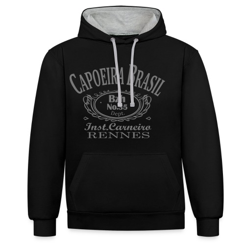 carneiroback - Sweat-shirt contraste