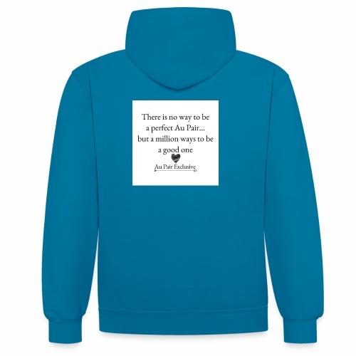 Perfect au pair - Contrast hoodie